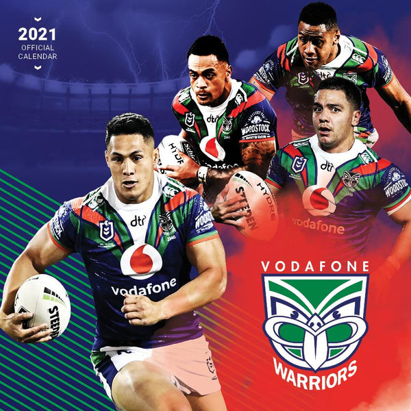 Paper Pocket - NRL NZ Warriors 2021 Calendar