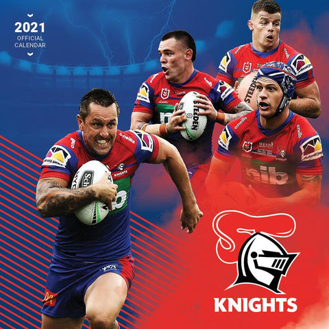 Paper Pocket - NRL Newcastle Knights 2021 Calendar