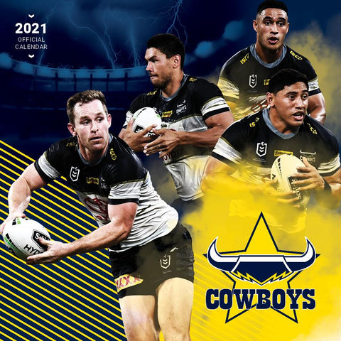 Paper Pocket - NRL North Queensland Cowboys 2021 Calendar