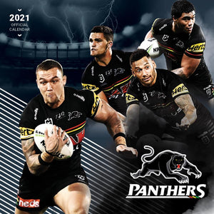 Paper Pocket - NRL Penrith Panthers 2021 Calendar