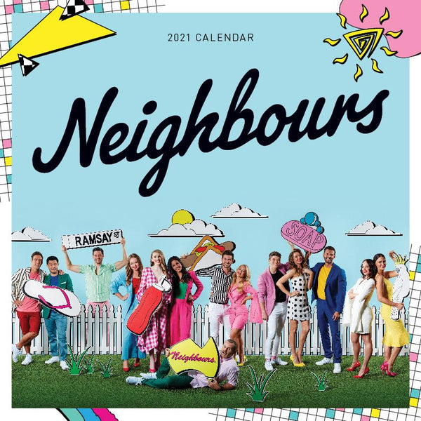 Paper Pocket - Neighbours 35th Anniversary  2021 Calendar