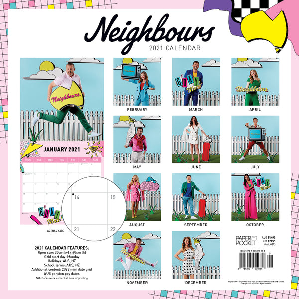 Neighbours 35th Anniversary  2021 Calendar
