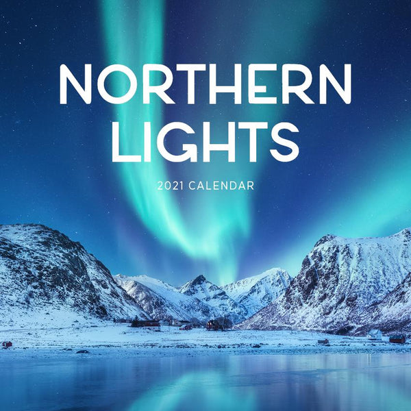Paper Pocket - Northern Lights 2021 Calendar