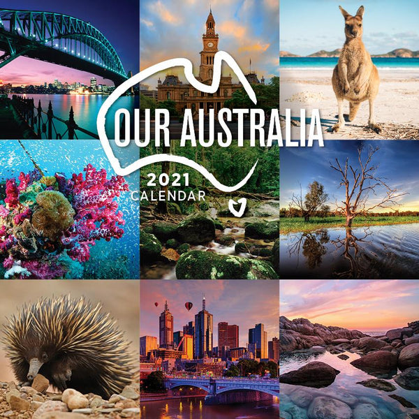 Paper Pocket - Our Australia 2021 Calendar