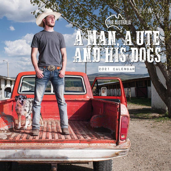 Paper Pocket - Our Australia A Man A Ute and his Dog 2021 Calendar