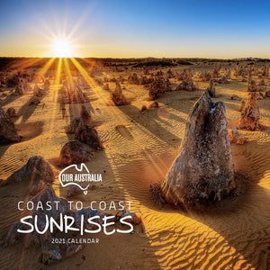 Paper Pocket - Our Australia Coast to Coast Sunrises 2021 Calendar