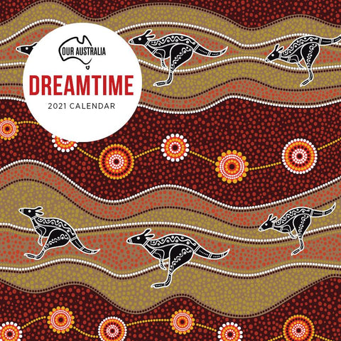Paper Pocket - Our Australia Dreamtime 2021 Calendar