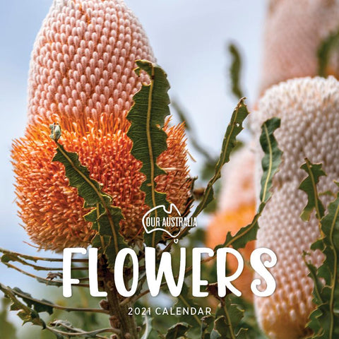 Paper Pocket - Our Australia Flowers 2021 Calendar