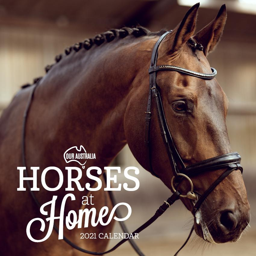 Paper Pocket - Our Australia Horses at Home 2021 Calendar