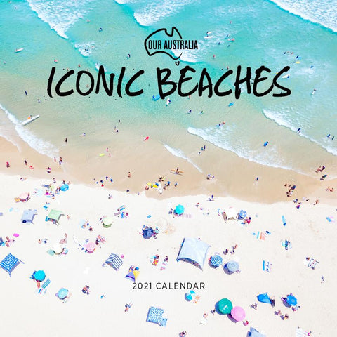 Paper Pocket - Our Australia Iconic Beaches 2021 Calendar