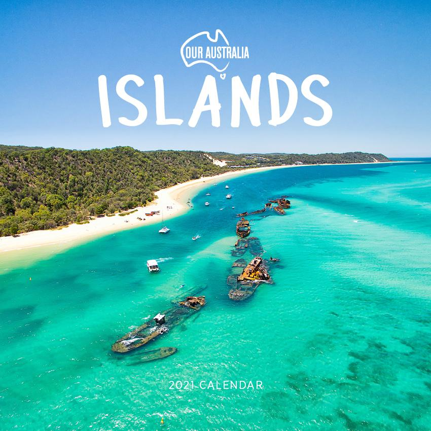 Paper Pocket - Our Australia Islands 2021 Calendar