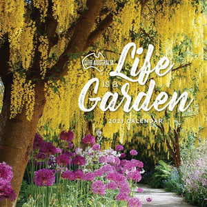 Paper Pocket - Our Australia Life is a Garden 2021 Calendar
