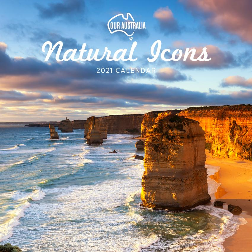 Paper Pocket - Our Australia Natural Icons 2021 Calendar