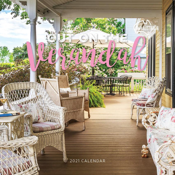 Paper Pocket - Our Australia Out on the Verandah 2021 Calendar