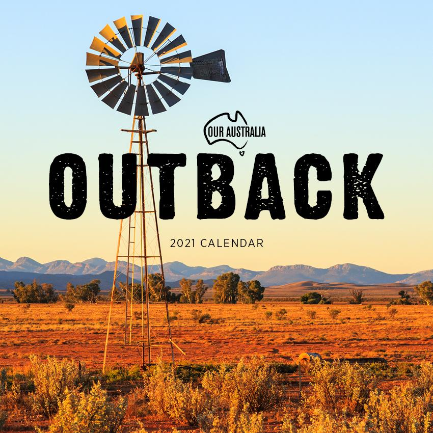 Paper Pocket - Our Australia Outback 2021 Calendar