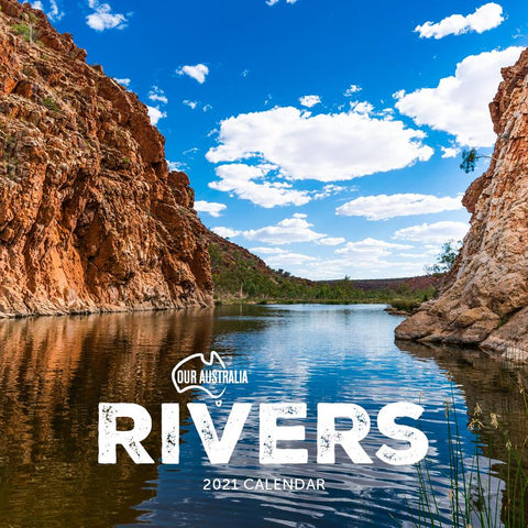 Paper Pocket - Our Australia Rivers 2021 Calendar