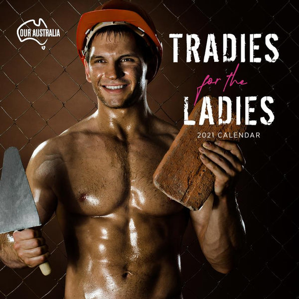 Paper Pocket - Our Australia Tradies for the Ladies  2021 Calendar