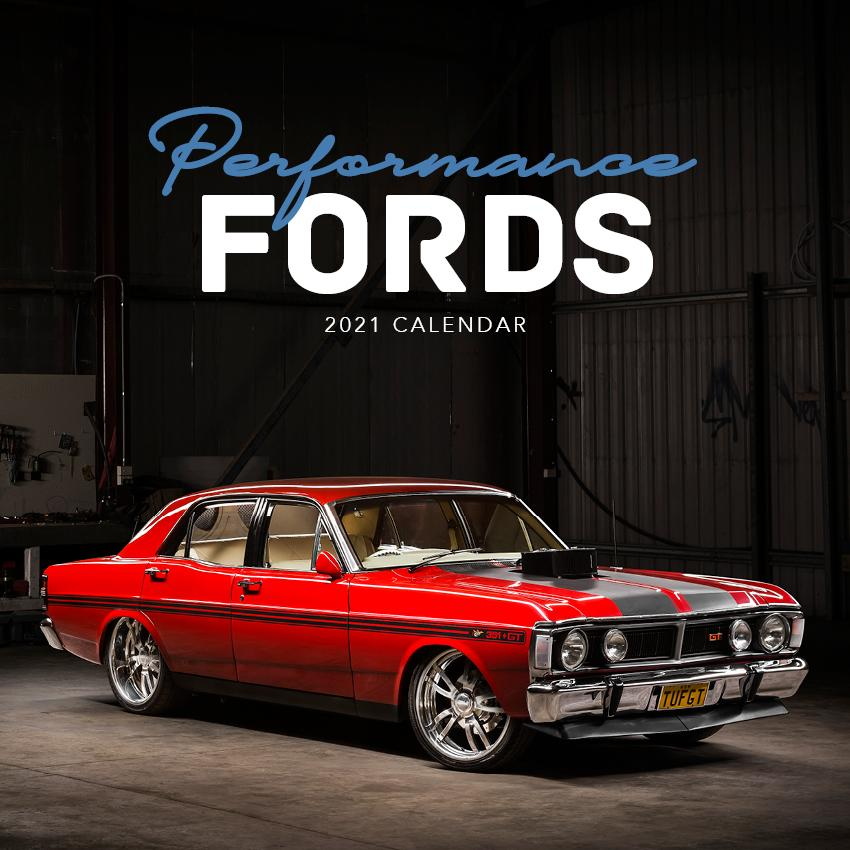 Paper Pocket - Performance Fords 2021 Calendar