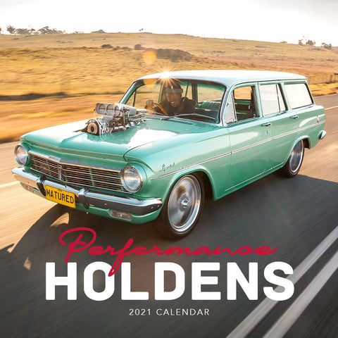 Paper Pocket - Performance Holdens 2021 Calendar