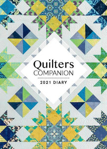 Paper Pocket - Quilters Companion 2021 Diary