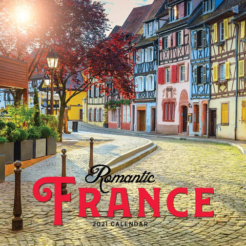 Paper Pocket - Romantic France 2021 Calendar