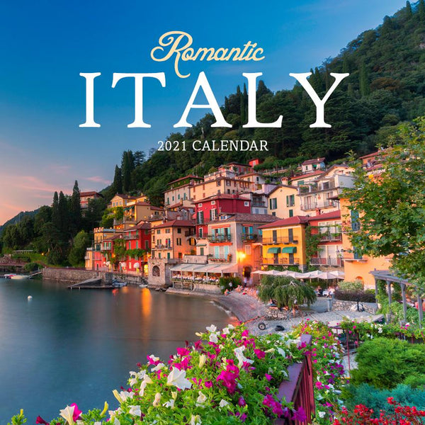 Paper Pocket - Romantic Italy 2021 Calendar