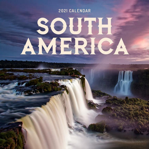 Paper Pocket - South America 2021 Calendar