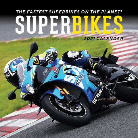 Paper Pocket - Superbikes  2021 Calendar