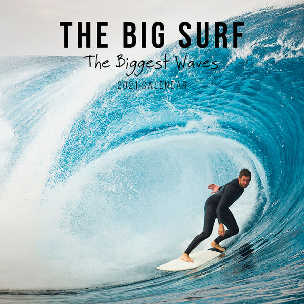 The Biggest Surf 2021 Calendar