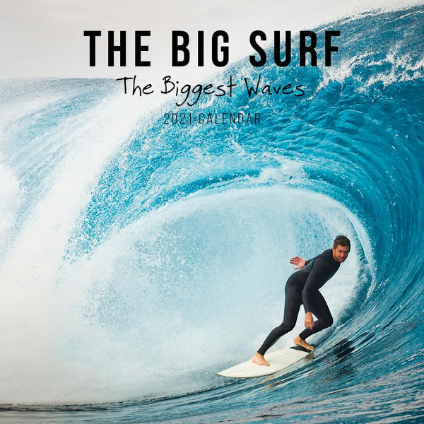 Paper Pocket - The Biggest Surf 2021 Calendar