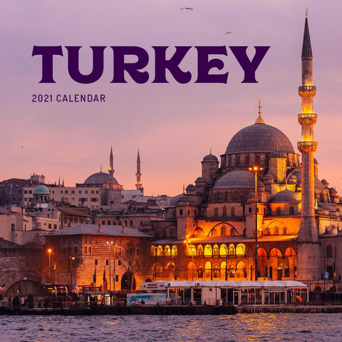 Paper Pocket - Turkey 2021 Calendar