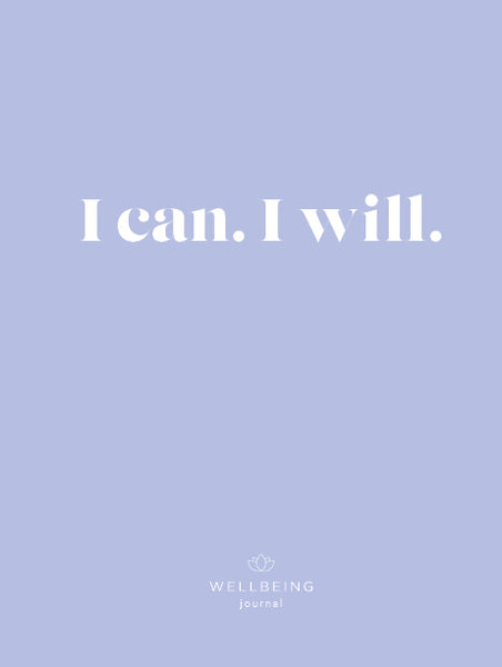 WellBeing I Can-I Will Journal (Undated)