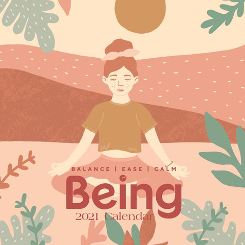 Paper Pocket - WellBeing BEING 2021 Calendar