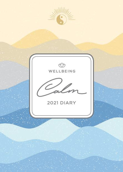Paper Pocket - Wellbeing Calm 2021 Diary