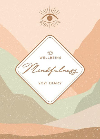 Paper Pocket - Wellbeing Mindfullness 2021 Diary