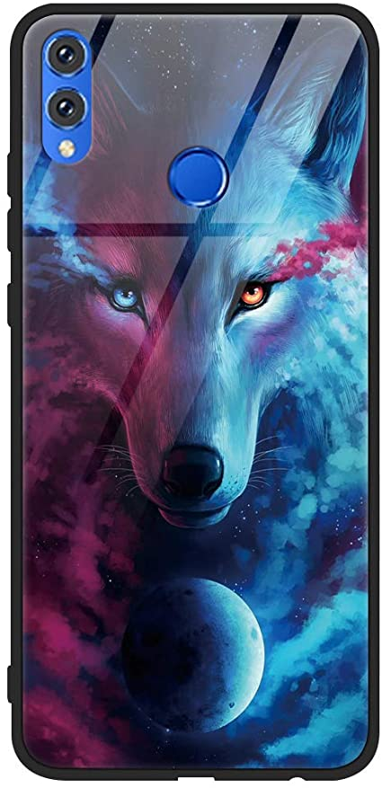 Coque honor 8x loup