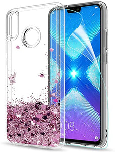 Coque honor 8x paillette