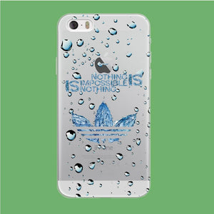 Adidas Rainy Drop coque iPhone 5 | 5s Clear