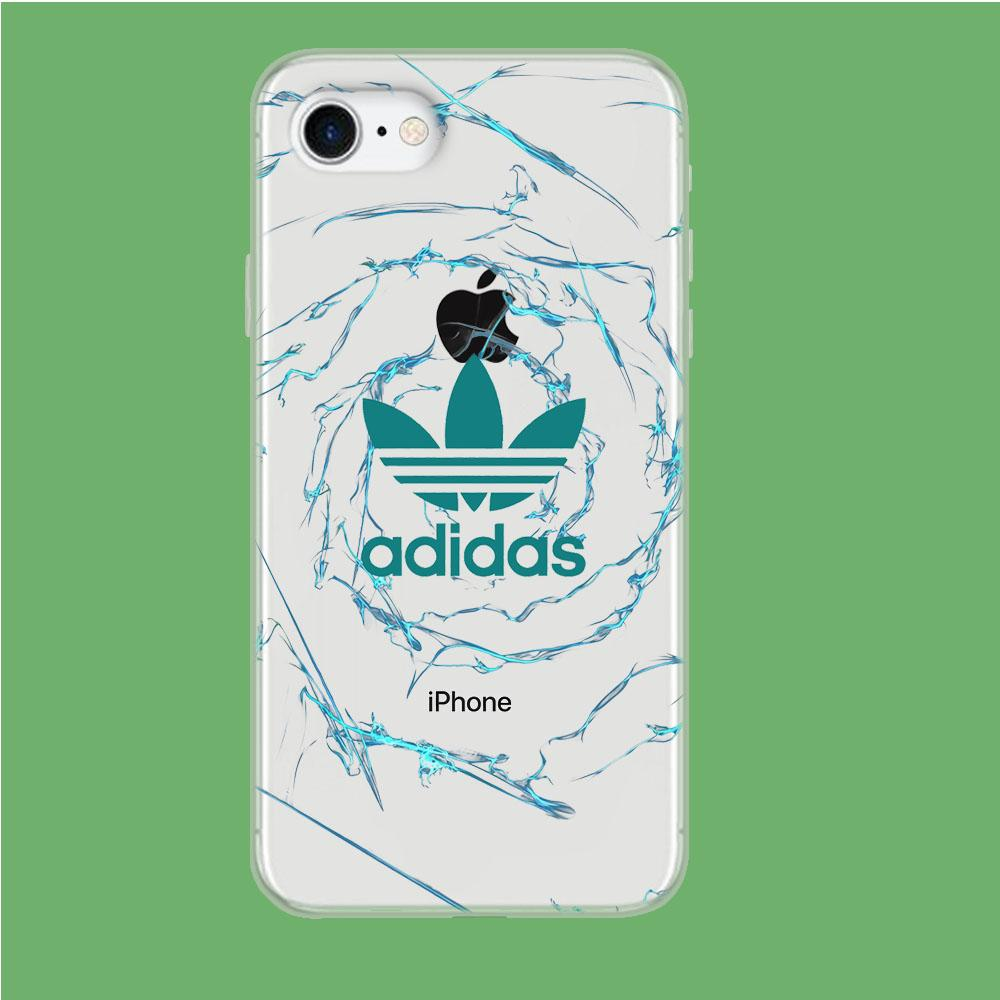 Adidas Smoke Spiral coque iPhone 7 Clear