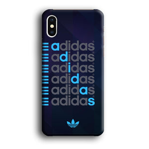 Adidas Word Show iPhone Xs Max 3D coque custodia fundas