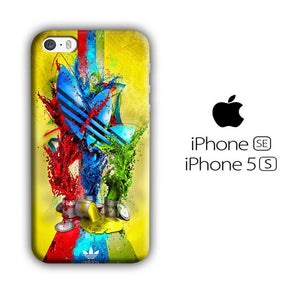 Adidas Yel Grow iPhone 5 | 5s 3D coque custodia fundas