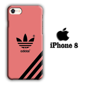 Adidas Young Red iPhone 8 3D coque custodia fundas
