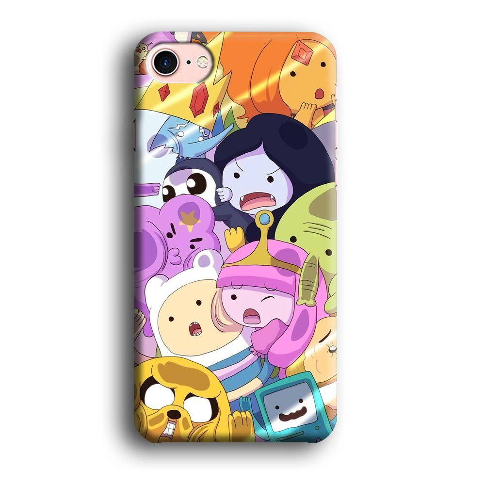 Adventure Time Give Your Face iPhone 7 3D coque custodia fundas