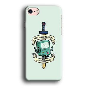 Adventure Time Play with Beemo iPhone 8 3D coque custodia fundas