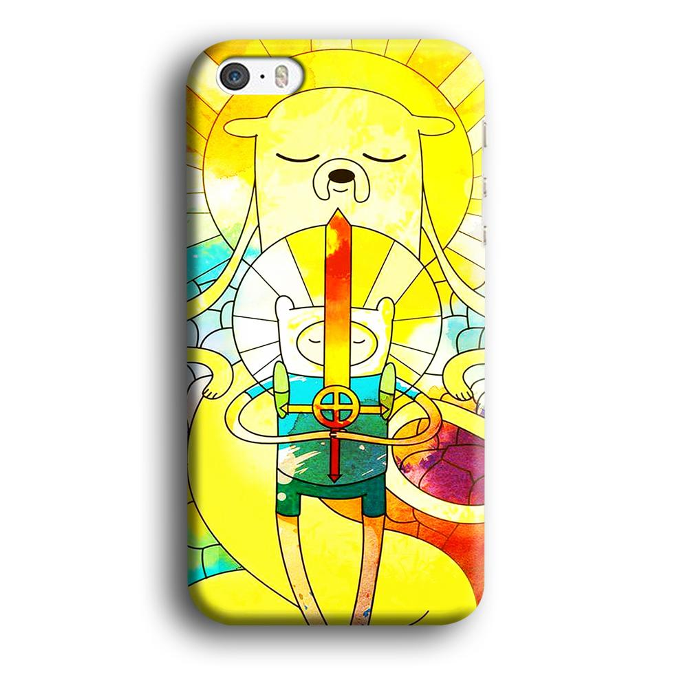 Adventure Time Strength and Serenity iPhone 5 | 5s 3D coque custodia fundas