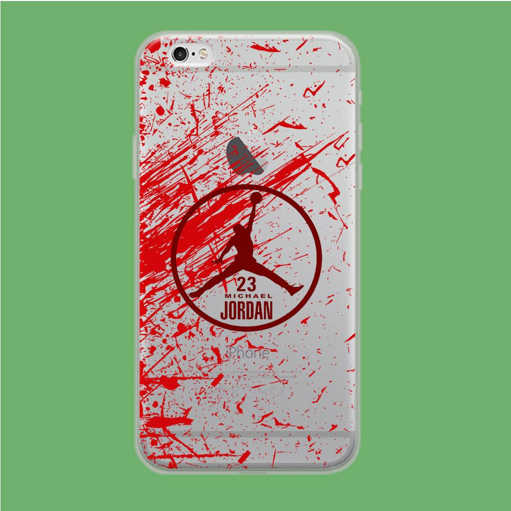 Air Jordan Passionate Soul coque iPhone 6 | iPhone 6s Clear