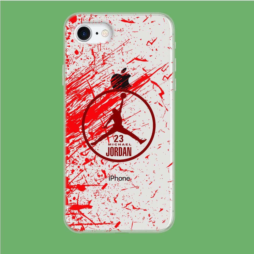 Air Jordan Passionate Soul coque iPhone 7 Clear