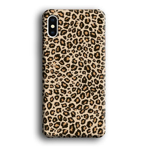 Animal Prints Leopard Skin of Fame iPhone X 3D coque custodia fundas