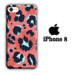 Animal Prints Puma Color Spray iPhone 8 3D coque custodia fundas