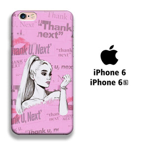 Ariana Grande Thanks U Next Cartoon iPhone 6 | 6s 3D coque custodia fundas